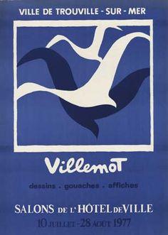 Ville de Trouville Sur Mer, Bernard Villemot
