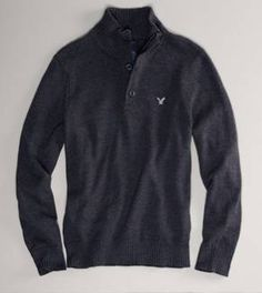 Mens Sweaters: V Neck Sweaters & Cardigans   American Eagle Outfitters