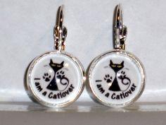 Damen Ohrschmuck Modeschmuck Hänger Tiere & Insekten Ohrringe Katze Catlover