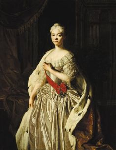 Portrait of Grand Duchess Natalya Alexeyevna of Russia (1714?1728), End 1720s