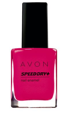 Avon Speed Dry+ Nail Enamel http://beautyeditor.ca/2013/03/14/i-have-a-new-favourite-nail-polish-brand-and-youll-never-believe-what-it-is/