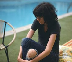 Joey Ramone, Los Angeles 1977, by Danny Fields.