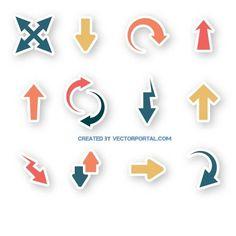 Arrows vector pack