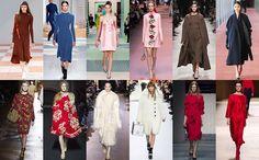 В чем ходить будущей осенью: длинные шубы, инфантильные платья, лакированная кожа, пайетки, пальто-бушлаты и еще более смелые, чем обычно, ботфорты