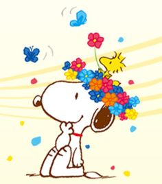Flower-Snoopy More