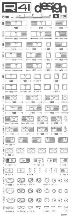 trasferibilir41 Cucine, 1:100, NERO. Trasferelli-Trasferibili R41 in fogli 9x25cm .