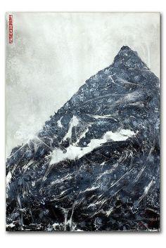 painting acrylic on canvas grane_100x70_2013_norbert wendel