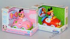 Myszka Minnie/Miki - samochodzik zdalnie sterowany
