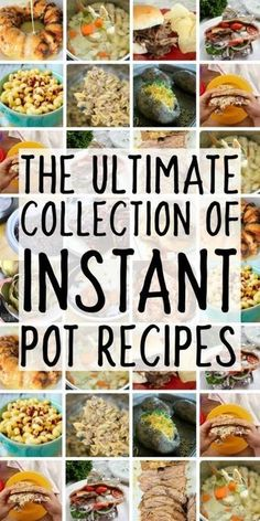 Everyone is trying to figure out how to use the instant pot electric pressure cooker and with this amazing collection of easy instapot recipes, you'll be set! If you're looking for instant pot recipes and Best Electric Pressure Cooker, Power Pressure Cooker, Instant Pot Pressure Cooker, Electric Cooker, Pressure Pot, Pressure Canning, Best Instant Pot Recipe, Instant Pot Dinner Recipes, Instant Pot Pot Roast