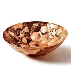 Tom Dixon || Hand-Hammered Copper Bowl