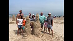 Family SandCastle Competition - April 10, 2021 #ThingsToDoSouthPadre South Padre Island, April 10, Competition, Things To Do, Beach, Parents, Things To Make, The Beach, Beaches