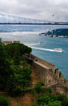 Bosphorus Bridge Istanbul, Turkey