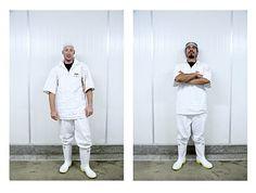 SHAUN WAUGH PHOTOGRAPHY: ME37 Nightshift Freezing Workers Frozen, Coat, Photography, Fashion, Sewing Coat, Moda, La Mode, Coats, Fasion