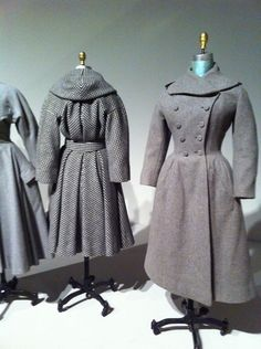 Stunning vintage jackets by Charles James (from the Ann Bonfoey Taylor exhibit at the Phoenix Art Museum, spring 2011)