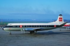 G-APIM Vickers V806 Viscount BEA British European Airways LPL 09MAR66