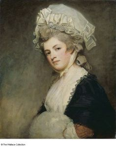 George Romney, Portrait of Mrs Mary Robinson, 1780 - 1781, Oil on canvas, 75.7 x 63.2 cm (Wallace Collection)