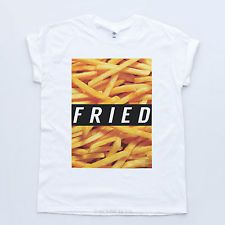 25ff2f8ee FRIED NEW TSHIRT Dope Geek Wasted Indie OFWGKTA Disobey Tumblr Mens  Streetwear