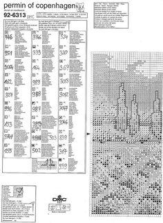Más Punto de Cruz (pág. 23) | Aprender manualidades es facilisimo.com Permin Med landscape