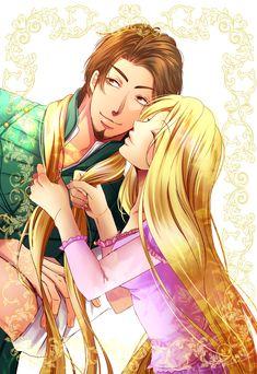 Flynn & Rapunzel by Kouri (ORIFA mst)
