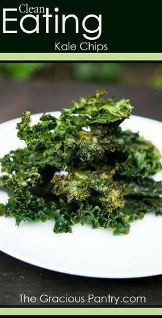 Kale Chips #GlutenFree