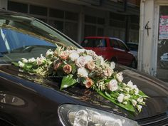 Fresh Flowers Only... Wedding Cars, Fresh Flowers, Floral Wreath, Wreaths, Decor, Dekoration, Flower Crown, Decoration, Door Wreaths