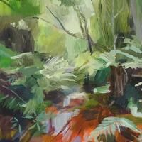Cathy Layzell is a painter based in Cape Town. Oil On Canvas, Abstract Art, African, Explore, Forests, Street, Painting, Instagram, Woodland Forest