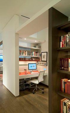 Un espace bureau inspirant. À la maison. Au boulot!