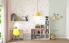 53 Inspirational Kids& Study Space Designs and Tips That You Can Copy . - 53 Inspirational Kids& Study Space Designs and tips that you can copy # - Study Table Designs, Study Room Design, Kids Room Design, Kids Study Table Ideas, Playroom Design, Kids Study Spaces, Study Rooms, Study Room Kids, Small Spaces