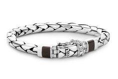 Buddha to Buddha bracelet - 085 George Black Wood bracelet - sterling silver bracelet