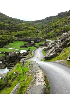 Gap of Dunloe, County Kerry, Ireland.