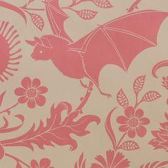 Elysian Fields - Antique Pink Bat