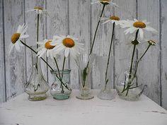 5 kleine Vasen im Set - Vintage Vase von Gerne Wieder auf DaWanda.com