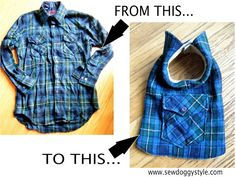 Home made dog coat - make your own coat for your dog - DIY Pet Coat Pattern – Sewing it Together!