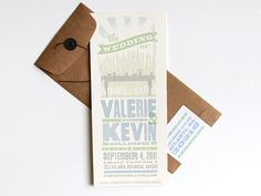 farm to table invite design for Kevin Gillespie & Valerie | the dapper paper co. #topchef
