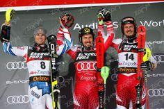 SL 1.Marcel Hirscher 2.Pinturault 3.Manuel Feller Snowboard, Rugby, Sl 1, World Cup 2018, Freestyle, Marcel, Skiing, Photos, Baseball Cards