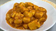 Gnocchi con Nduja e Gorgonzola Gnocchi, Tortellini, Chicken Wings, Pesto, Pork, Vegetables, Ethnic Recipes, Sweet, Youtube