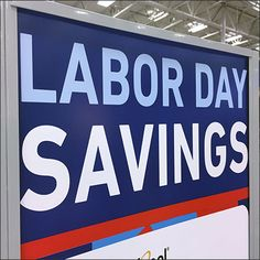 Evenbody expects a better deal, so why not go all out with a Multi-Brand Labor Day Savings Sign for the Holiday? That way you offer something for everyone. That Way, Close Up, Appliances, Retail, Signs, Day, Gadgets, Accessories, Shop Signs