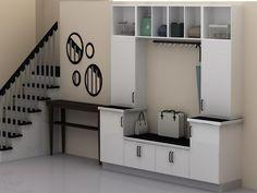 IKEA Kitchen Mudroom