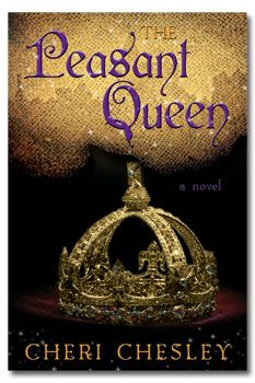 The Peasant Queen by Cheri Chesley. Book Cover.