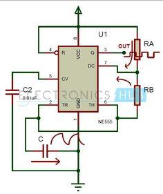 electronic bike horn circuit diagram Electronic bike