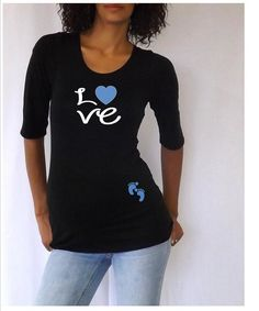 """Items similar to Spring Sale Discount Ends April Black Christmas Maternity T-shirt/Tee for expecting TWINS """" Naughty and Nice"""" Styli. on Etsy Cute Maternity Shirts, Funny Pregnancy Shirts, Pregnancy Humor, Cute Shirts, Funny Maternity, Funny Shirts, Maternity Fashion, Maternity Style, Maternity Pictures"""