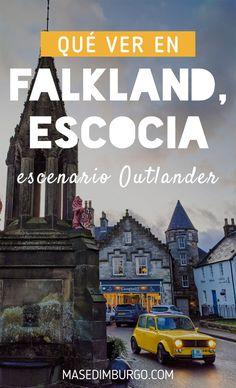 Qué ver en tu visita a Falkland, uno de los escenarios de Outlander en Escocia y hogar del palacio de Falkland. #Escocia #Outlander Outlander, Movie Posters, Movies, Sentences, Scotland, Paths, Palaces, Traveling, Home