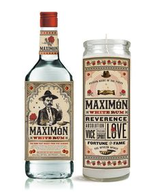 Maximon, the patron saint of the sinner. Rum packaging, and branding concept by Two Arms Inc