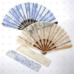 Qualité chinois japonais geisha costume fancydress soie bois décoratif forme d/'éventail 23Cm
