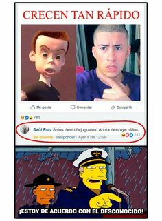 """No es tan malo :""""v Funny Spanish Memes, Spanish Humor, Funny Jokes, Hilarious, New Memes, Dankest Memes, Funny Images, Funny Pictures, Mexican Memes"""