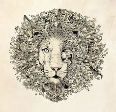 """The King's Awakening"" Art Print by Kerby Rosanes on Society6."