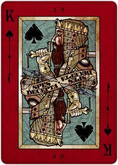 REQUIEM PLAYING CARDS DECK by Lorenzo Gaggiotti