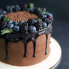 """3,346 Likes, 10 Comments - @urbanspoon on Instagram: """"Chocolate cake and berries with @dasha_she!"""""""