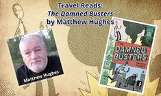 The Damned Busters by Matthew Hughes Tv Reviews, Book Review, Science Fiction, Books To Read, Horror, Fans, Reading, Travel, Sci Fi
