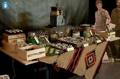 The Walking Dead Dessert Station by Sweets Indeed - http://sweetsindeed.com/blog/2014/09/29/the-walking-dead/